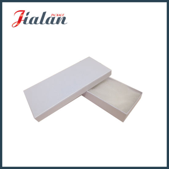 Custom Made Wholesale White Jewellery Packaging Paper Gift Boxes