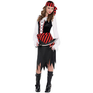Child Buccaneer Beauty Pirate Costume Child Police Clothing with Good Price pictures & photos