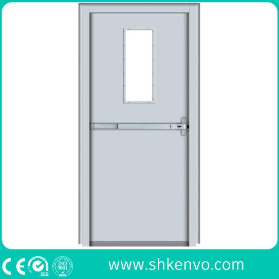 Industrial or Commercial UL Certified Fire Rated Hollow Metal or Steel Swinging Exit Door