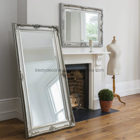 Wood Frame Decoratvie Vintage Large Mirror Wall China Mirror Wall Mirrors Made In China Com