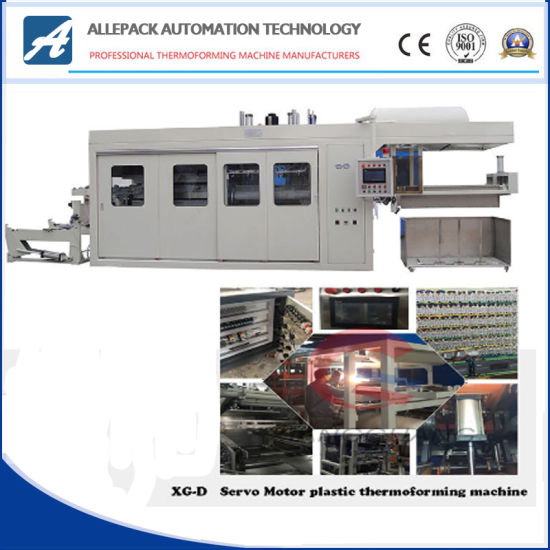 PP Vacuum Forming Machine Thermoforming Servo Motor for Food Containers pictures & photos