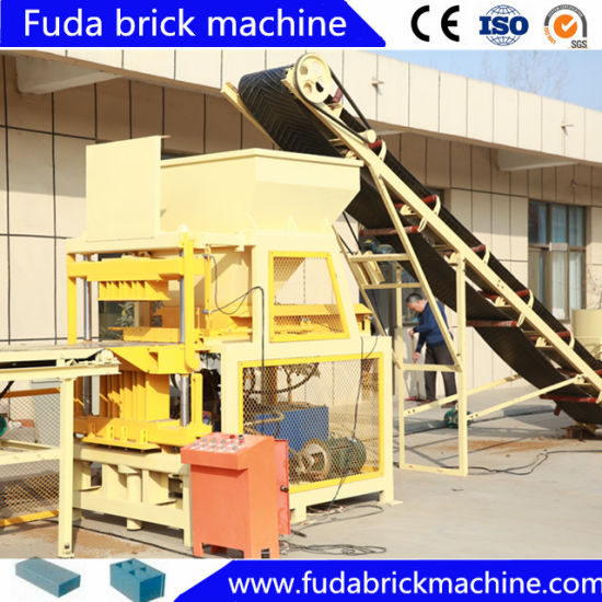Automaticcally Interlocking Clay Brick Making Machine pictures & photos