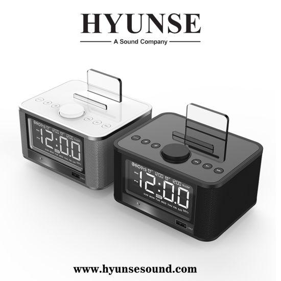 Wireless Bluetooth Alarm Clock Radio TF Card Speaker X7