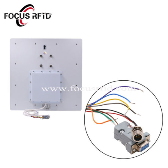 ISO18000 6c UHF Inventory System Long Range RFID Reader with 12dBi Antenna