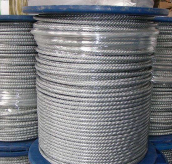 High Carbon Steel Rod Steel Wire Rope pictures & photos