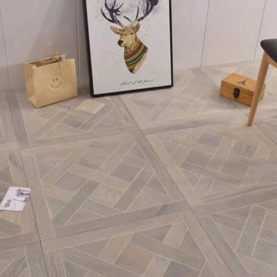 China New Product Natural Oak Solid Parquet Hardwood Flooring