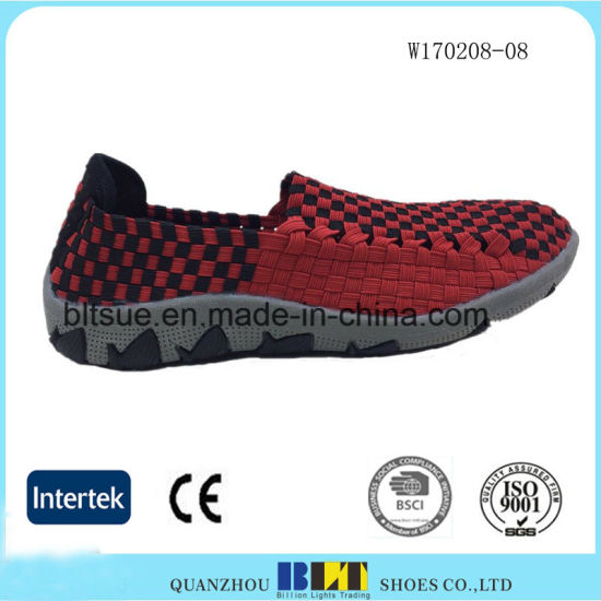 EVA Lining and Outsole Casual Woven Shoe for Women