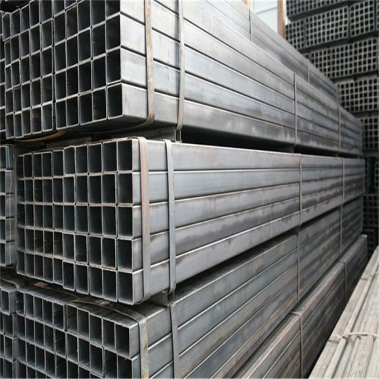 New Design Iron Ms Square Rectangular Tube Ms ERW Black Square Hollow Section Steel Pipe/Tubes (rhs/shs)