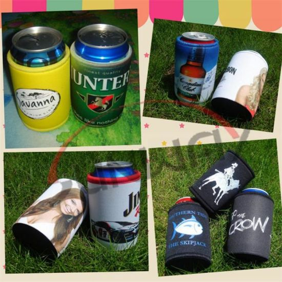 Customized Neoprene Beverage Beer Stubby Cooler Can Holder Bottle Koozie (BC0075) pictures & photos