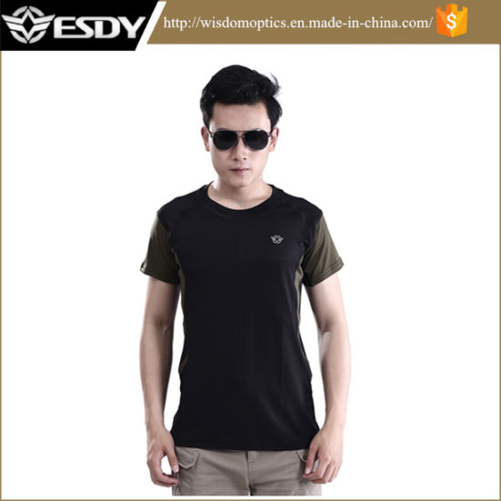 3 Colors Fashion Summer Outdoor Nylon Short Sleeve T-Shirt