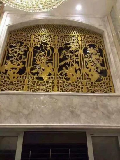 Laser Cut Metal Panel for Decorative Wall Partition Panel pictures & photos