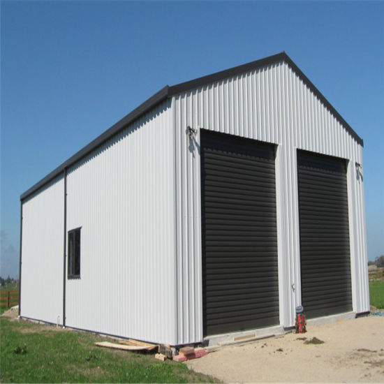 China High Quality Prefabricated Steel Frame Structure Building ...