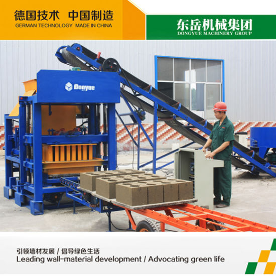 China High Quality Qt4-25c Not Burnt Brick Making Machine
