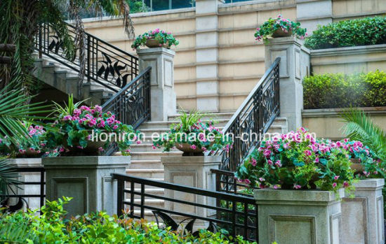 Australian Standard Hot-Sale Iron Balcony & Stair Railing pictures & photos