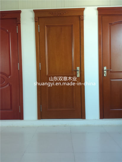 China Interior Mdfpvc Wooden Doors For House Building China