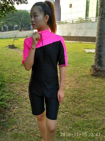 9ddf3960e2a85 China Lycra Short Sleeve One-Piece Swimwear &Beachwear&Wetsuit ...