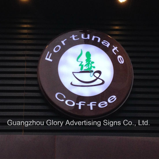 Rotating Light Box /Wall Mounted Revolving LED Light Box pictures & photos