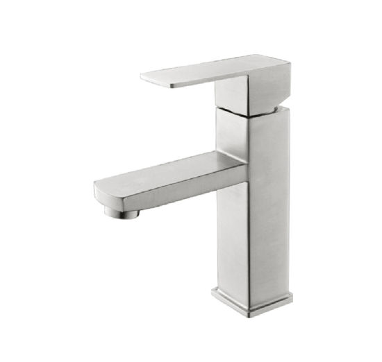Single Lever  Bathroom/Bath Stainless Steel Basin Water Mixer
