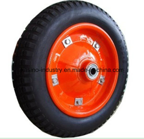 High Quality 13inch 3.25-8 PU Foam Wheel Used on Wheelbarrow (GOOD PRICE)