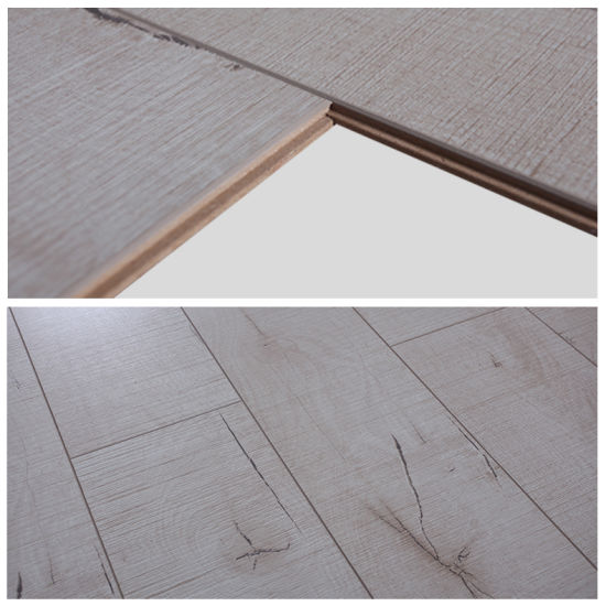 China 12mm Norway Oak Hdf Eir Finish Laminate Flooring With Cheapest