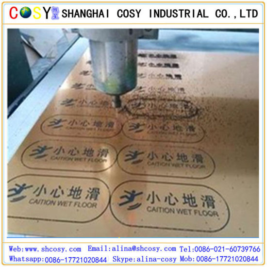 Laser Engraving ABS Double Color Board with High Adhesive pictures & photos