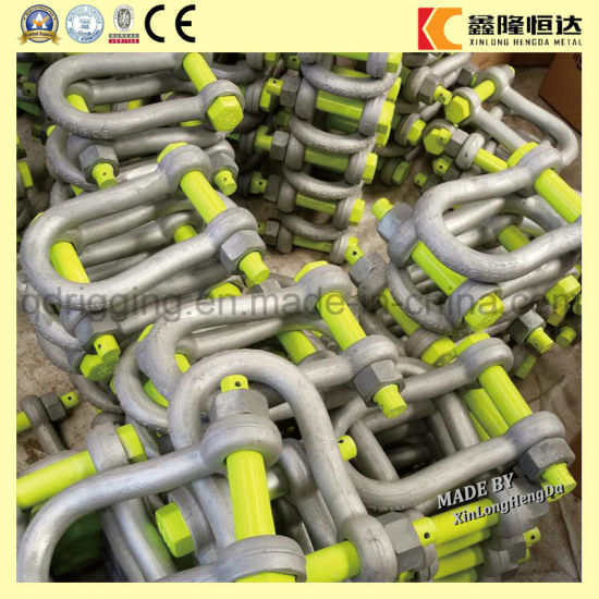 G80 Factory Price U Shackle, Stainless Steel Shackle pictures & photos