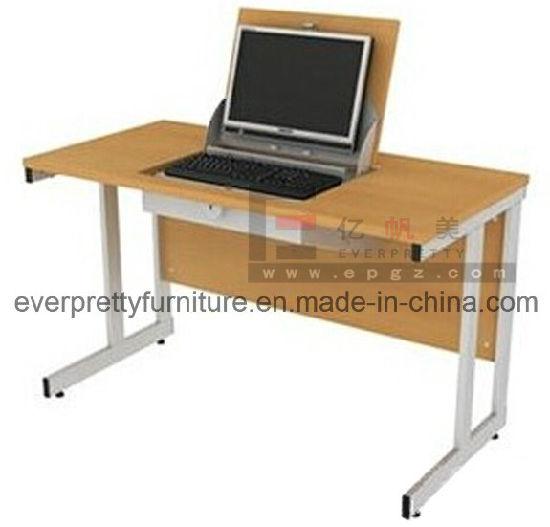 Reversible Metal Steel Student Smart Computer Desk Furniture