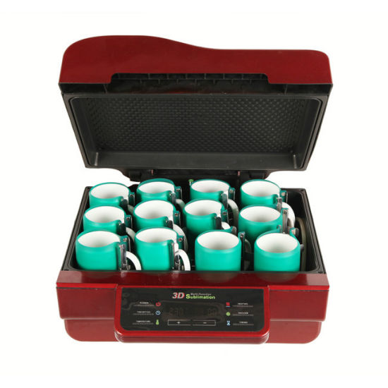 Hot Sell 3D Vacuum Heat Transfer Sublimation Machine for Mug Printing