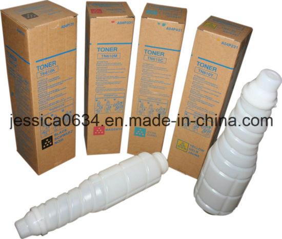 Compatible Konica Minolta C5500 C6500 Toner, Tn610 Toner Cartridge