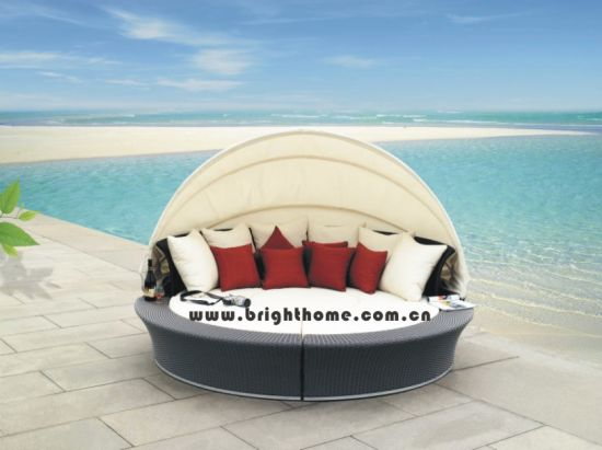 Outdoor Lounge Set/ Daybed /Garden Furniture (BP-602) pictures & photos