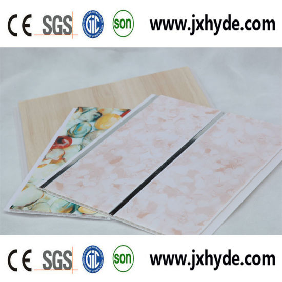 Hot Stamping PVC Panel for Ceiling and Wall Decoration Panel 5/6/7/8mm Thickness, ISO9001 pictures & photos