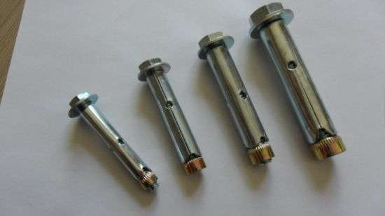 Anchor Bolt/Hex Bolt Type Sleeve Anchor pictures & photos