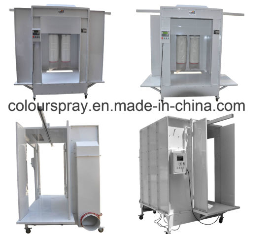 Tunnel Powder Coating Spray Booth pictures & photos
