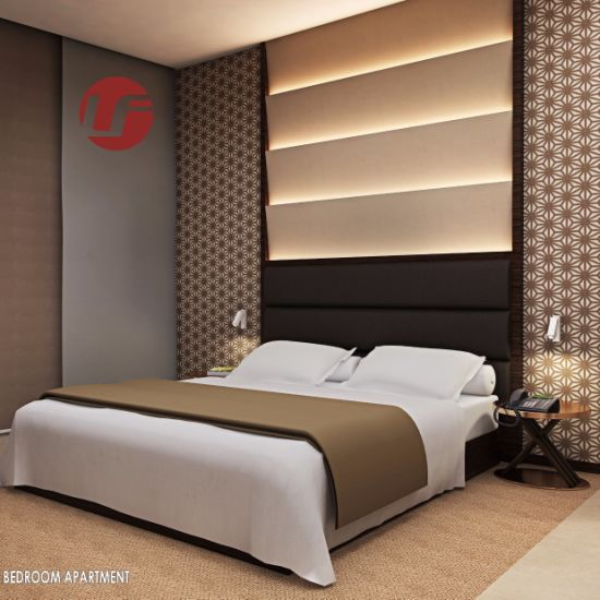 Maple Green Foshan Wholesale 5 Star Hotel Bedroom Furniture pictures & photos