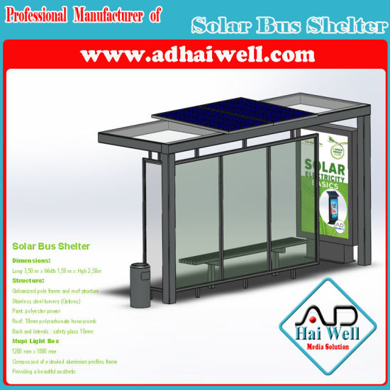 Mupi Light Box Street Furniture Bus Shelter Station pictures & photos