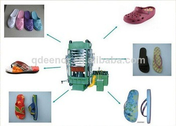 Rubber Machinery Manufacture EVA Slippers Sole Mould Machine Qingdao pictures & photos