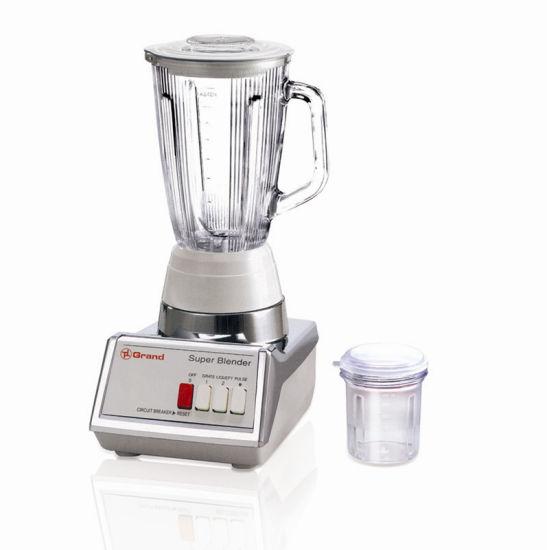 Kitchen Glass Jar 350W 2 Speeds 2 in 1 Electric Blender