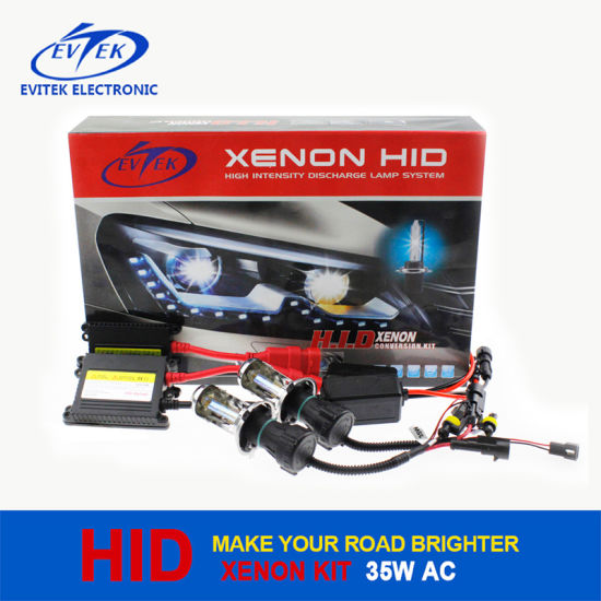 Hot Sell Xenon HID Kit 35W 12V AC Slim Kit, High Quanlity, 18 Months Warranty as After-Sale Service