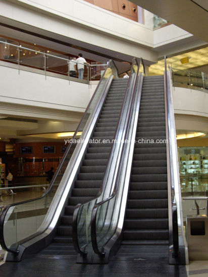Vvvf FUJI Quality Control Indoor Escalator with 35 Degree 1000mm Width Step