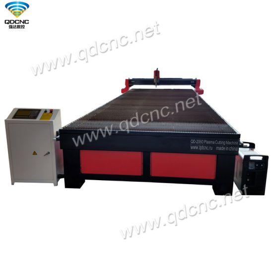 High Precision CNC Plasma Cutting Machine with Reliable Driving System Qd-2060