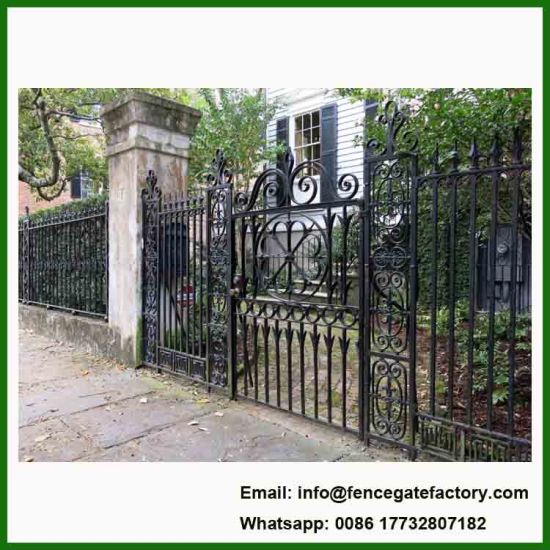 House Simple Wrouht Iron Gate Grill Design