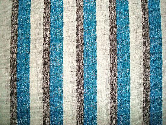 Drop Needle Yarn Dyed Stripe Silver Thread Knitting Rib Fabric