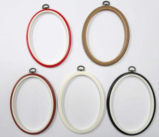 China Embroidery Hoop Plastic Hoop Cross Stitch Hoop Embroidery
