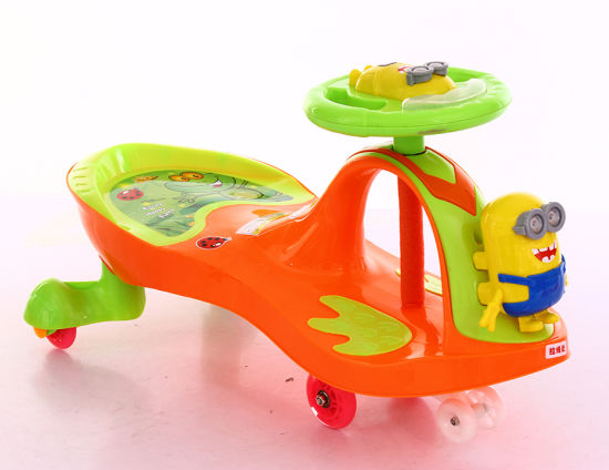 China Baby Plastic Swing Twist Car Baby Ride On Toys Scooter China