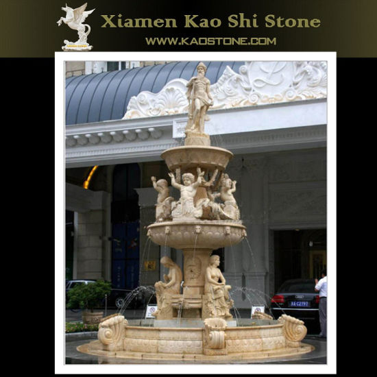 Granite Marble Outdoor Decorative Water Fountain for Sale/Garden pictures & photos