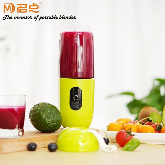 Mini USB Rechargeable Electric Fruit Juice Smoothie Mixer Maker