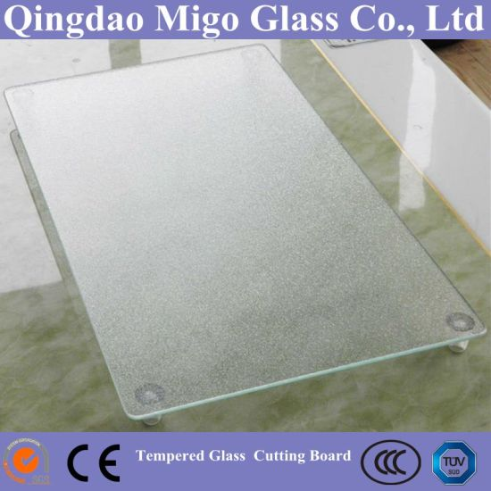 3-10mm Toughened Glass Cutting Board/Tempered Glass Cutting Board