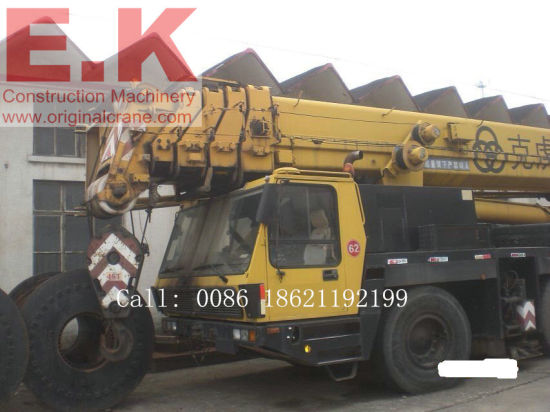 Krupp 160ton Secondhand Germany All Terrain Used Crane Kmk5160