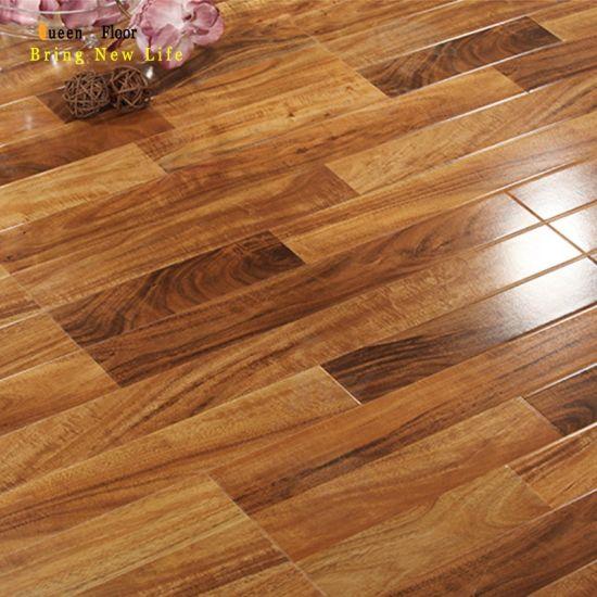 3 Strips Design Wood Laminated Flooring, Best Pattern For Laminate Flooring