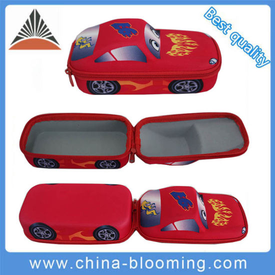 Cartoon School Stationery Students 3D Car Pencil Box Case